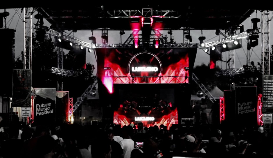 Live Event Visuals – Future Music Festival Australia tour 2014